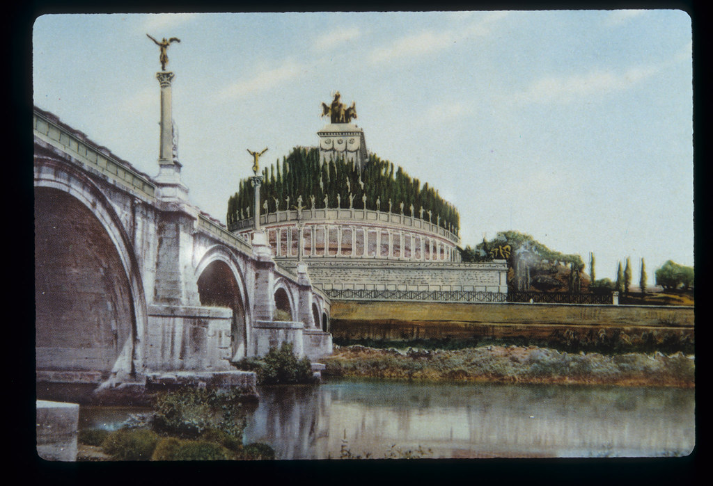 Imperial Rome Reconstruction Of The Mausoleum Of Hadrian