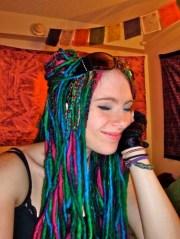 yarn weave - l. l.'s hair