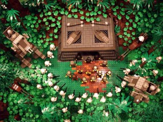 Endor Capture (overhead view)