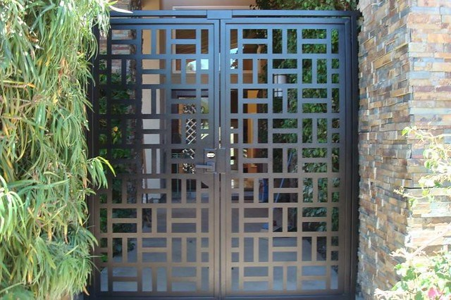 stunning modern gate design ideas 5