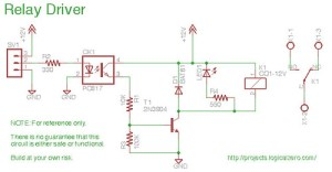 Relay Board schematic | The schematic of the basic relay boa… | Flickr