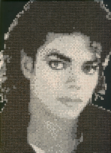 Michael Jackson mosaic ALEAmosaiccom  for the king in