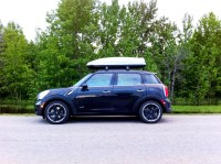 MINI Countryman - Roof rack and roof box | Is it too far ...