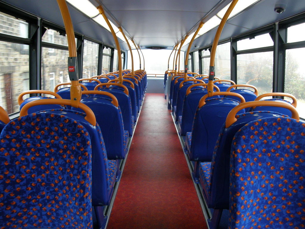 Enviro 400 interior  The interior of a Stagecoach