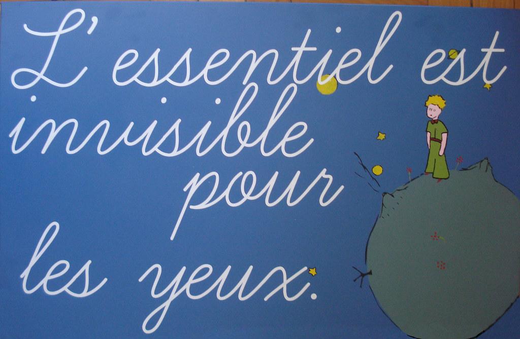 Le Petit Prince  Lessentiel est invisible pour les yeux