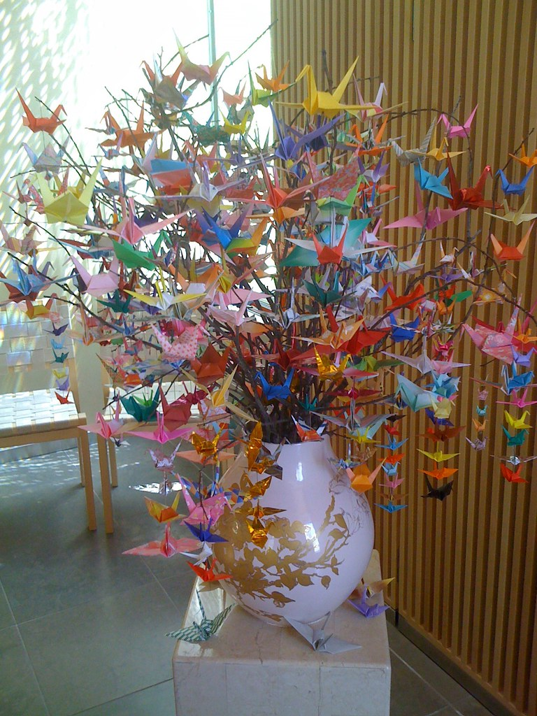 Origami Crane Tree Salmon Creek Hospital Chapel