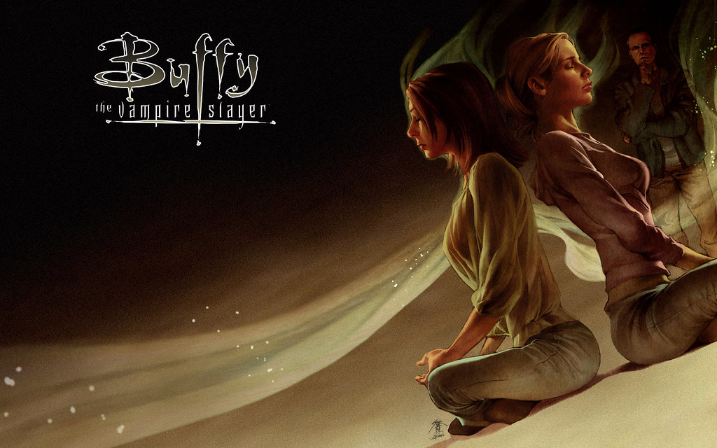 Buffy  Willow 1920x1200 wallpaperdesktop by Jo Chen  Flickr