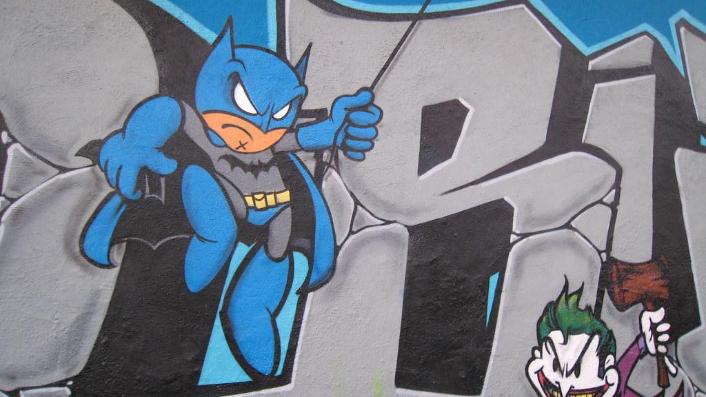 Graffiti Batman Stephanie Hobson Flickr