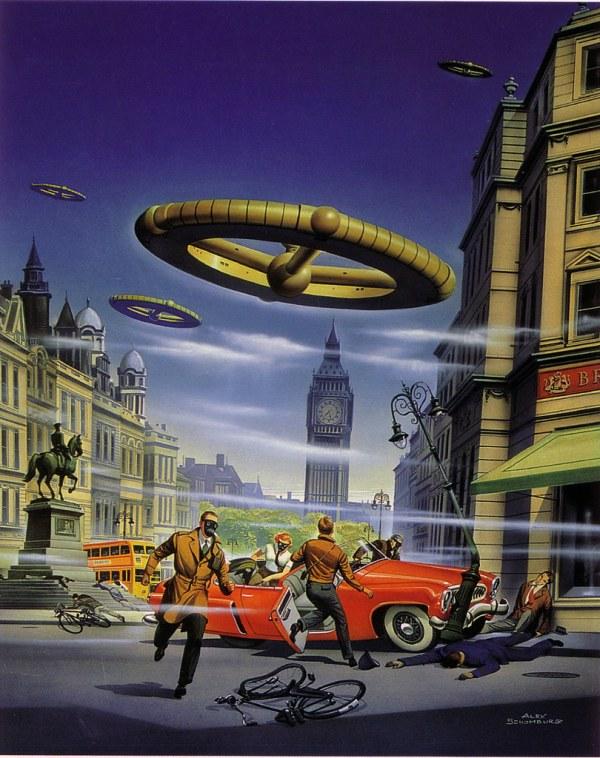Fantastic Vintage Science Fiction Art Frederick Barr