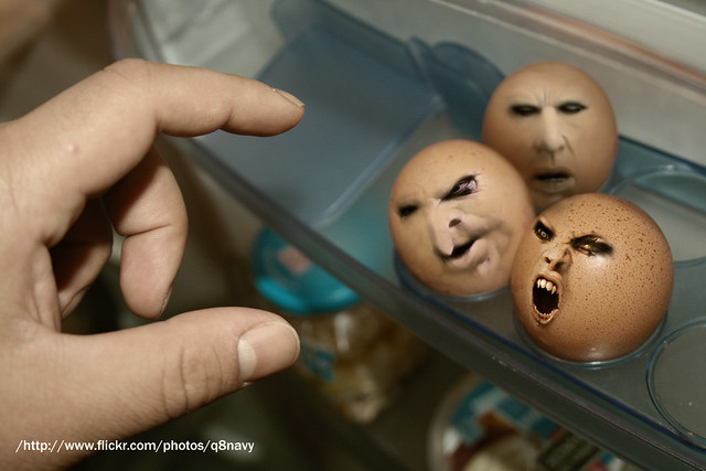 Evil eggs   omar Studio  Flickr