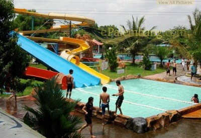 Wahana Bermain Fantasy Island Palembang | Ini adalah foto ...