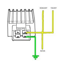 Cb750 Simple Wiring Diagram 1969 Johnson 115 Motorcycle Voltage Regulator - Somurich.com