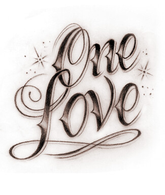 One Love One Love One Heart Let39s get together and