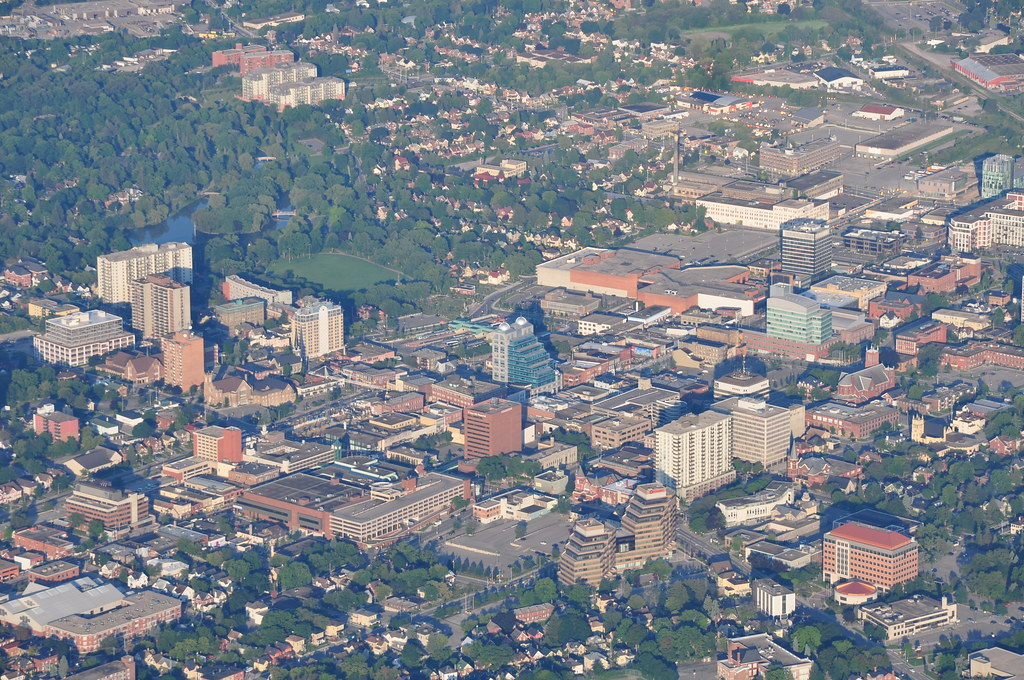 Downtown Kitchener  Zoomed in so its easy to pick out var  Flickr