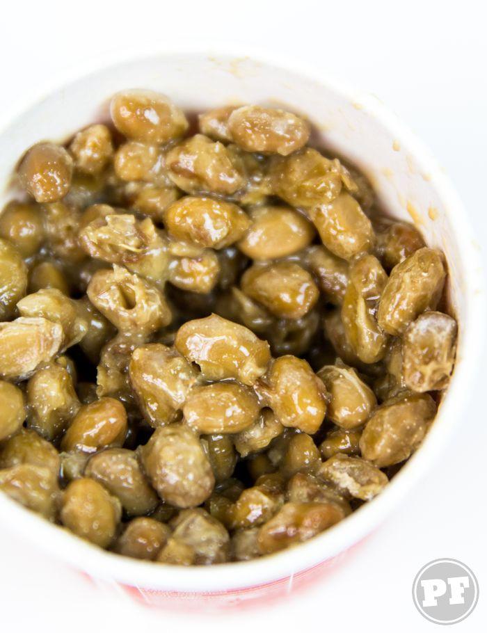 Natto (Soja Fermentada) por PratoFundo.com