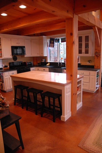 kitchen island cabinets kohler faucet repair post & beam: | white beadboard with ...