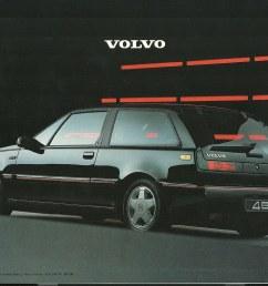 volvo 480 brochure 1987 by hedyelyakim [ 1024 x 788 Pixel ]