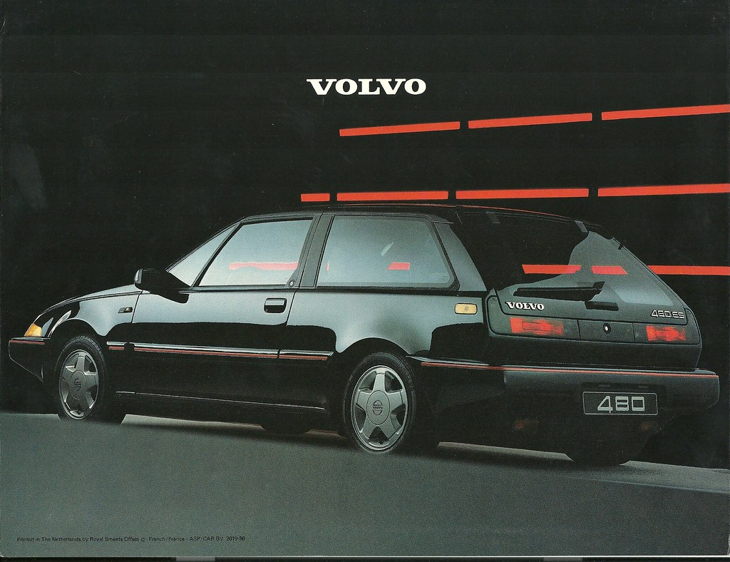 hight resolution of  volvo 480 brochure 1987 by hedyelyakim