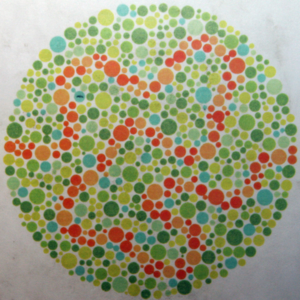 Colour Blindness Test Chart Discovery Museum Newcastle
