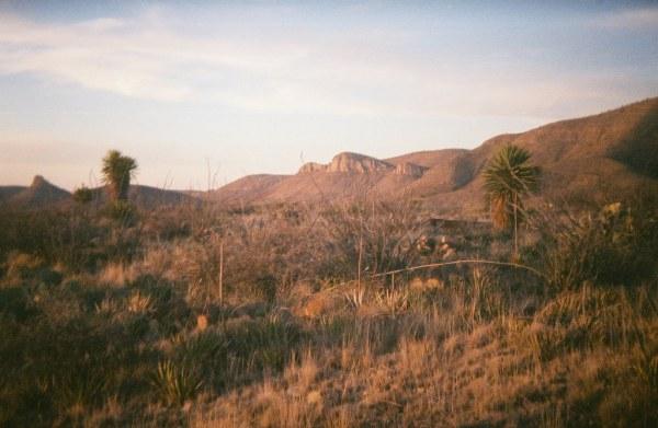 west texas landscape holga 135