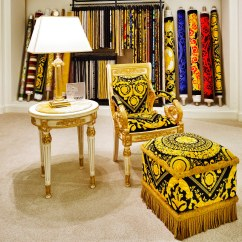 Versace Sofa 3 Piece Set With Chaise Home Vanitas Armchair | Available At Palazzo ...