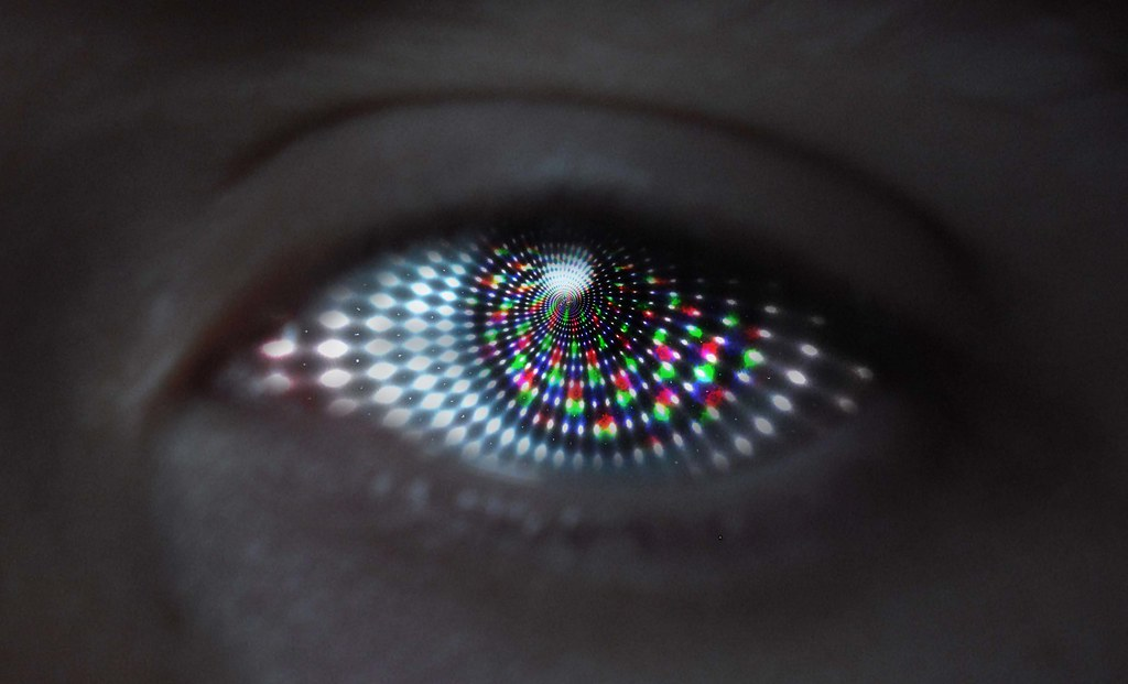 The Hypnotic Eye Created For An A Level Photography