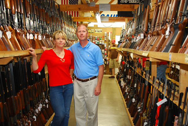 Whittaker Guns  Becky the owner of Whittaker Guns is in