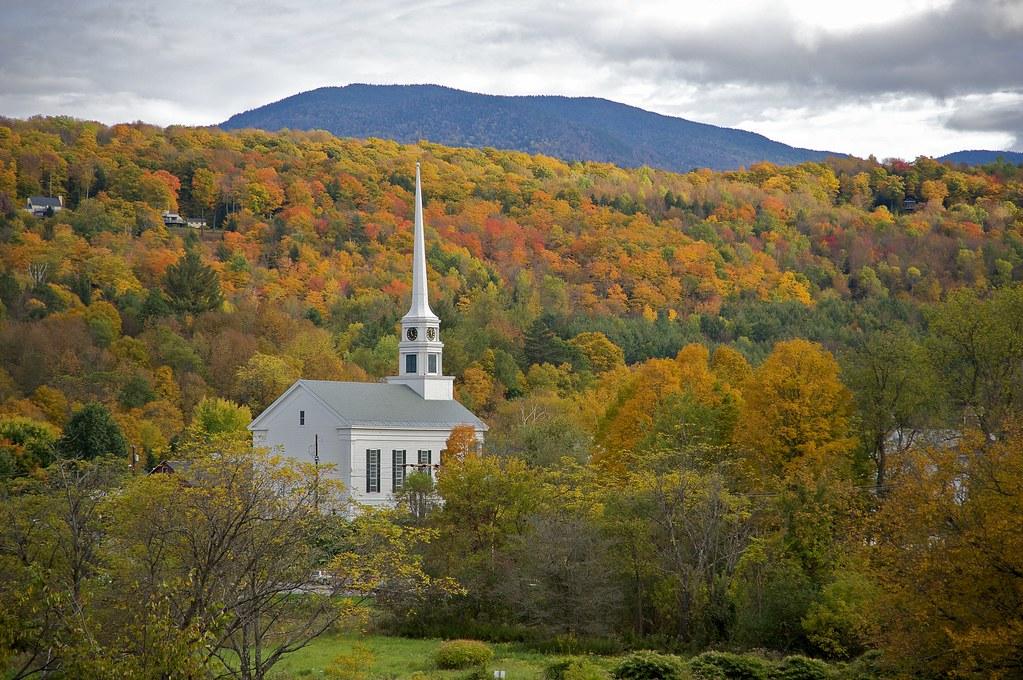 Fall Wallpaper Lake Community Church Stowe Vermont Jim Liestman Flickr