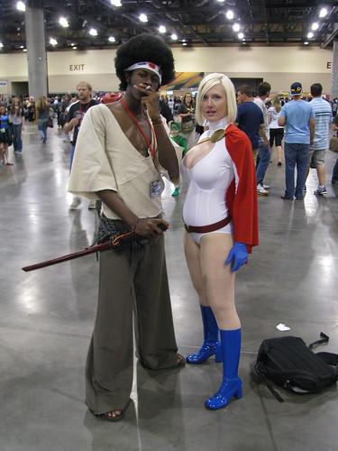 Afro Samurai and Power Girl  Vegas PG  Flickr