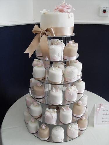 Miniature Wedding Cakes Miniatures Designed In 4