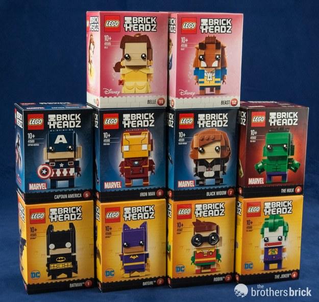 Lego Brickheadz Dc Characters From The Lego Batman Movie