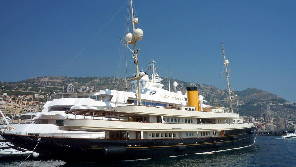 Lady Moura Amp Nero Yacht In Monaco Lady Moura 344 Feet