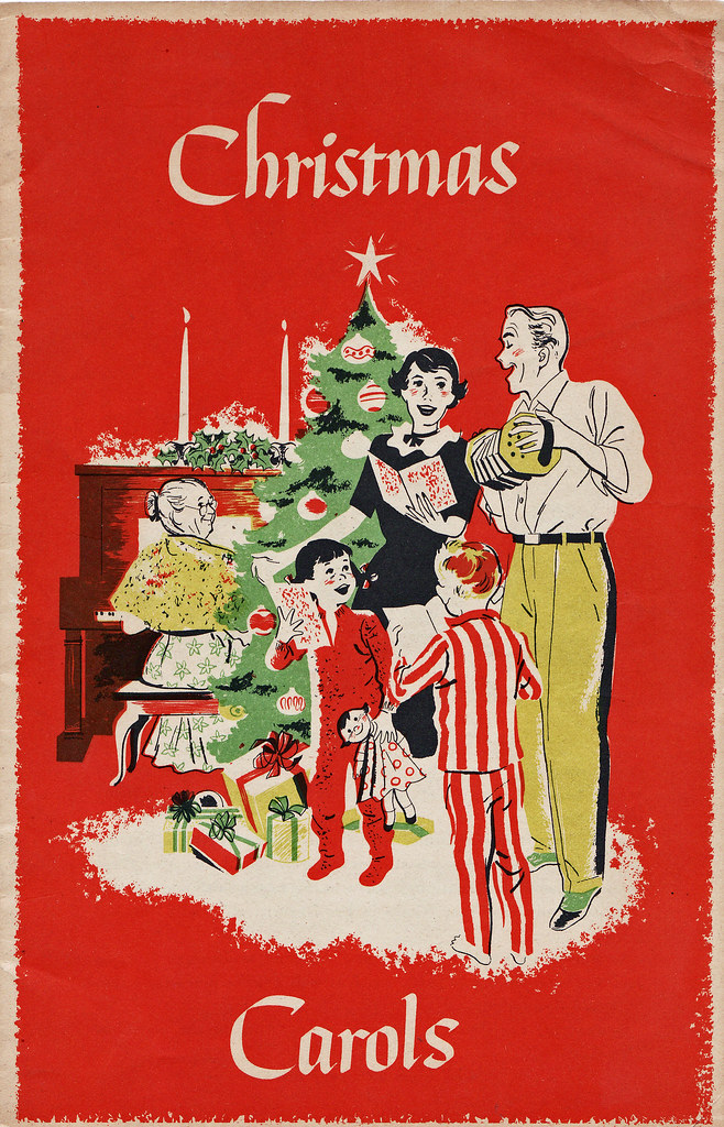 Christmas Carols 1951 Christmas Promotional Booklet With
