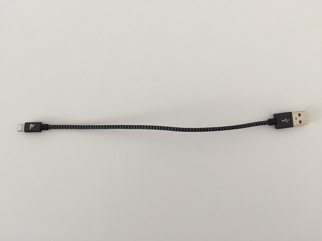 20170208 Câbles Lightning et Micro USB Rampow 00013