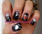 lady gaga's nail art poker