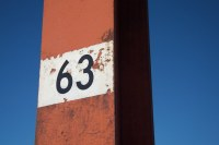 Lamp post number 63, Golden Gate Bridge