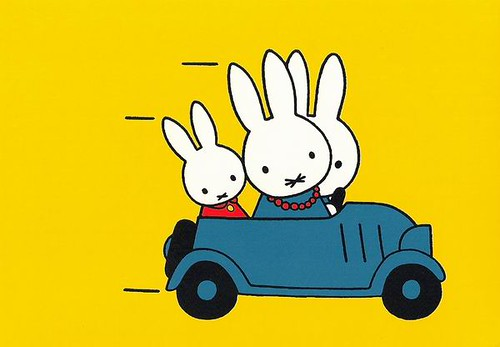 Miffys Family In The Car | - Dees From The Netherlands - Su
