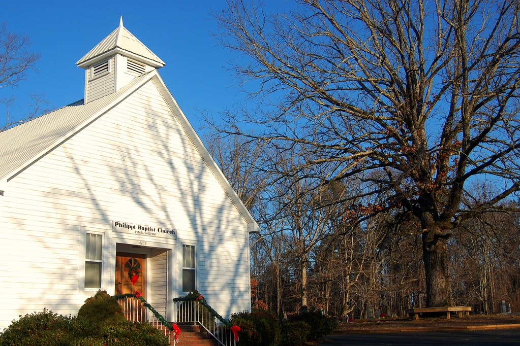 Christmas In Dahlonega Georgia Philippi Baptist Church
