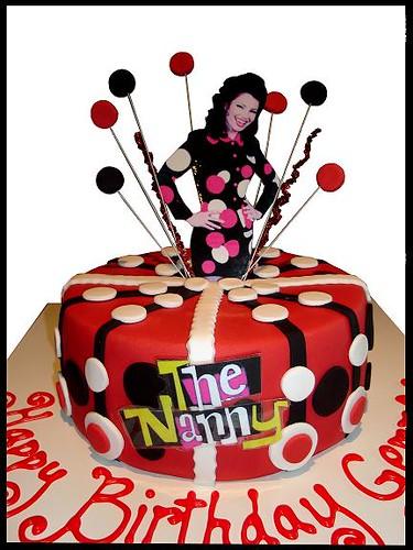 The Nanny Cake Vanilla Mud Cake With Vanilla Buttercream