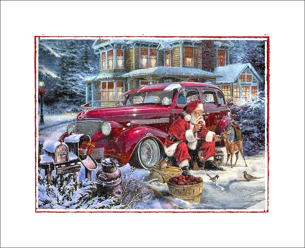 Santa Takes A Break My Thanks To Kid Deuce For The