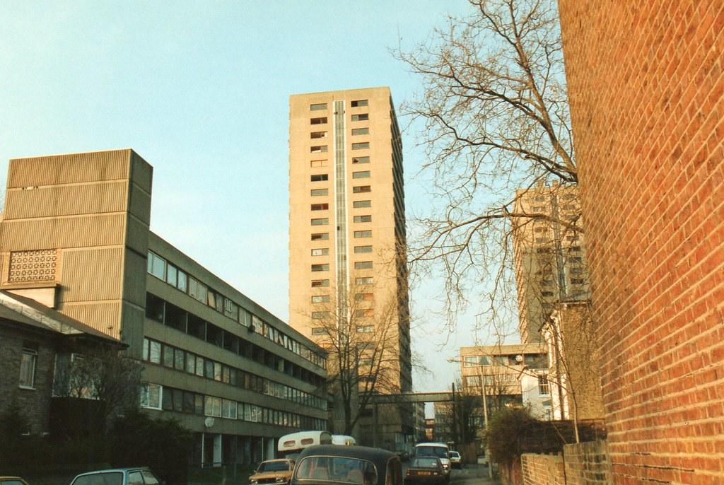 Handley Road Kingshold Estate South Hackney 1993  4