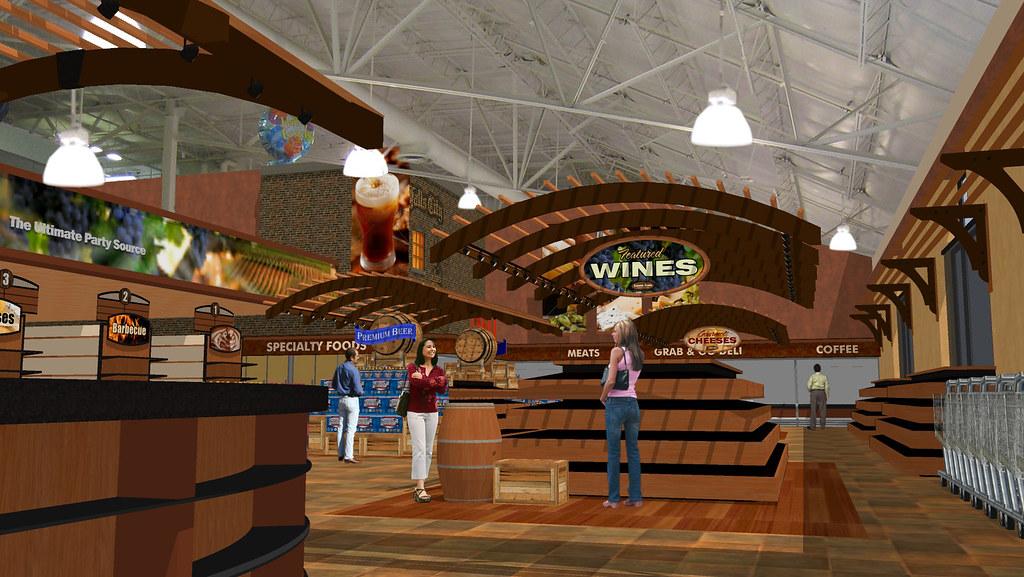 Interior Liquor Store Conceptual Liquor Store Design L