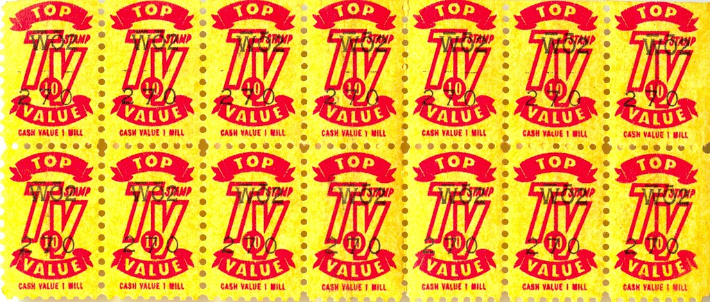 Top Value Trading Stamps Do These Bring Back Memories Or