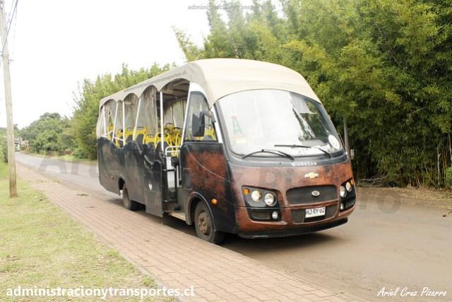 Bus Ara Moai (Maururu Travel)   Hanga Roa   Inrecar Géminis - Chevrolet / HJRY62