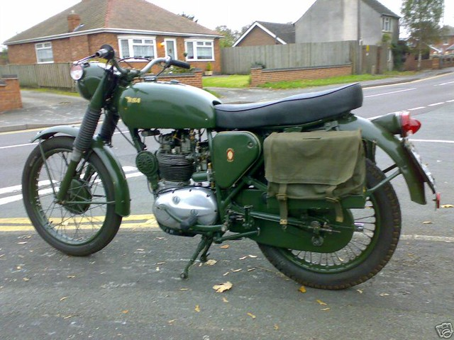 Bsa B40 Wd 1967 Motos Anglaises Flickr