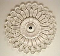 Minard Lafever inspired ceiling medallion in 1838 Jay Draw ...