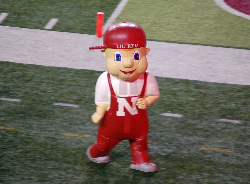 Lil Red Nebraska Football Huskers Lil Red Alone Once