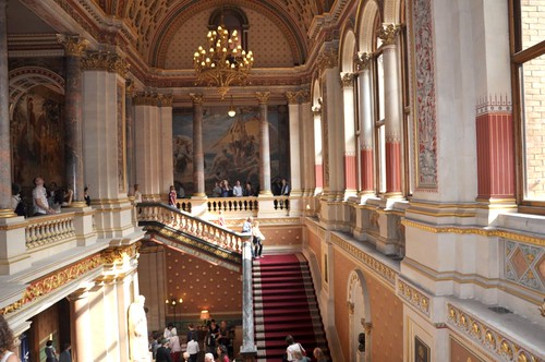 Open House London 2009  Grand staircase  Pictures taken