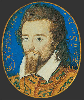 Possibly Henry Wriothesley 3rd Earl of Southampton 1594