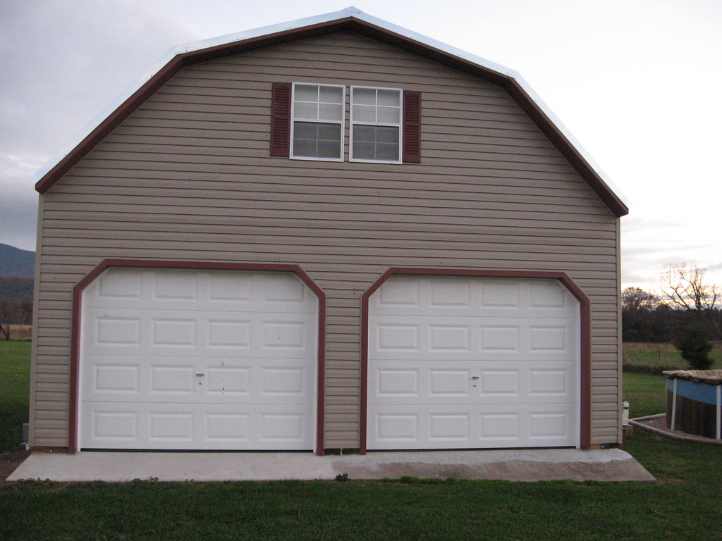 2 Story Buildings  Two Story Garages  Vinyl Garage  Flickr
